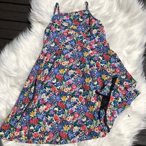 Old navy spaghetti strap flowery dress size 5T